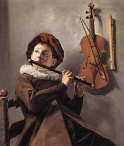 Judith Leyster's Young Flute Player