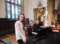 Danielle Breisach (flute) and Yana Avedyan (piano)