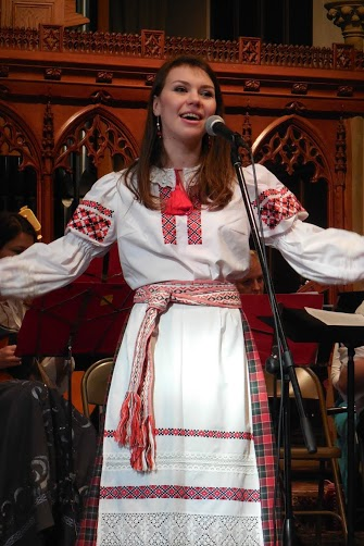 UW Russian Folk Orchestra. Photo by Lynn Morgan.