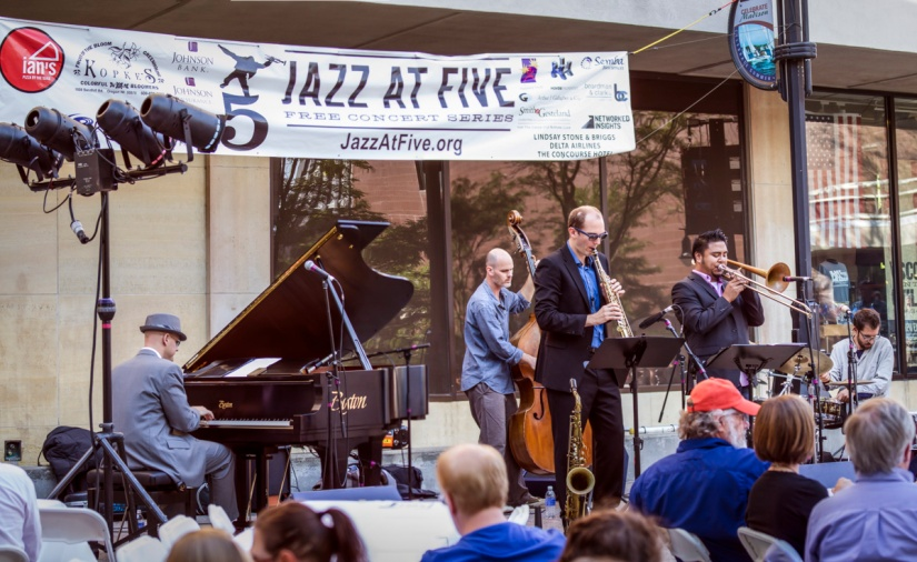 Johannes Wallmann Quartet (plus 1), Jazz @ 5. Photo by Michael R. Anderson