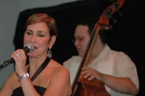 Gerri DiMaggio at the Telluride Jazz Festival